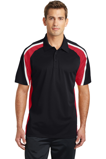 Black/ True Red/ White- Logo Masters International, Embroidery, Screen Printing