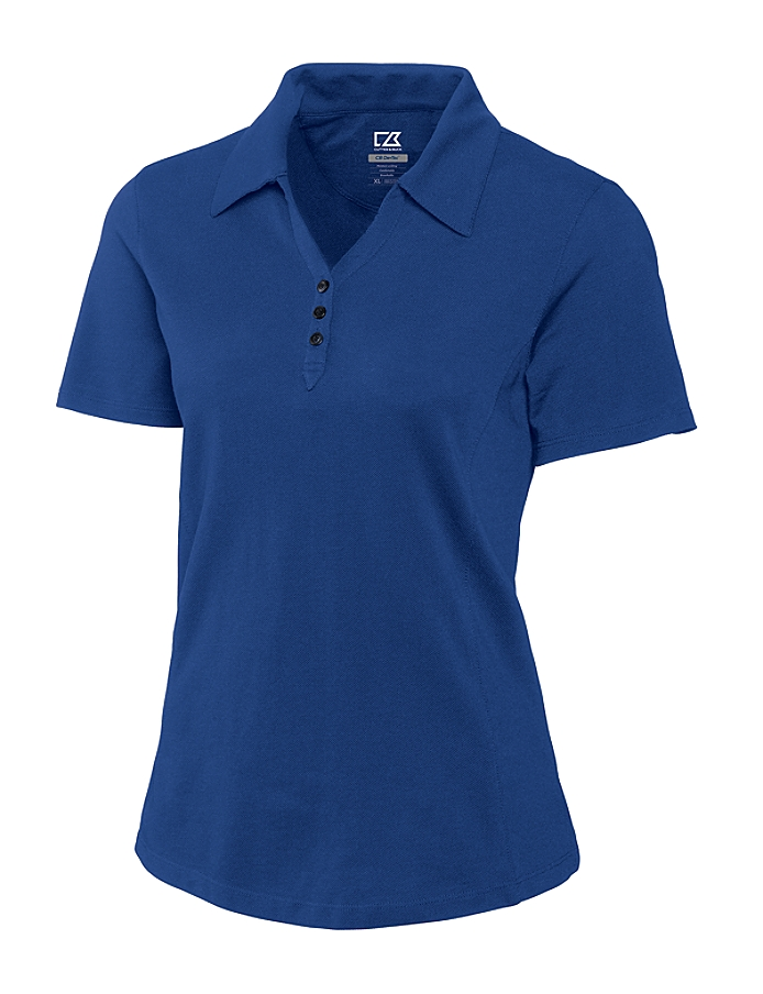 Cutter &  Buck - LCK08541 Ladies CB DryTec Championship Polo Shirt, Pensacola, Embroidery, Screen Printing, Logo Masters International