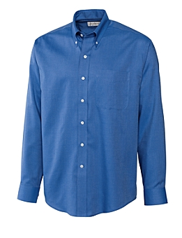Cutter &  Buck Men's CB L/S Epic Easy Care Nailshead Shirt