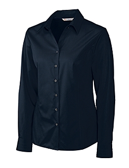 Cutter &  Buck - LCW08394, Ladies CB Epic Easy Care Fine Twill Shirt - Logo Masters International