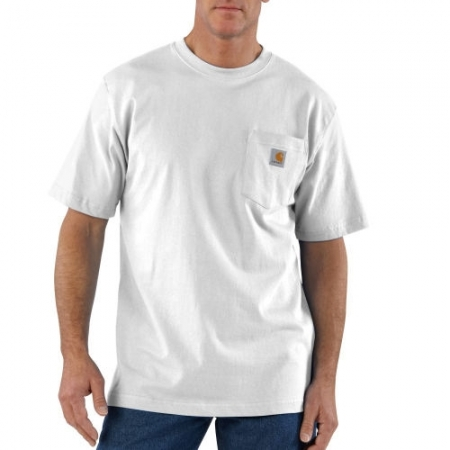 Carhartt - K87, Men's Workwear Pocket Short-Sleeve T-shirt, Embroidery, Screen Printing - Logo Masters International