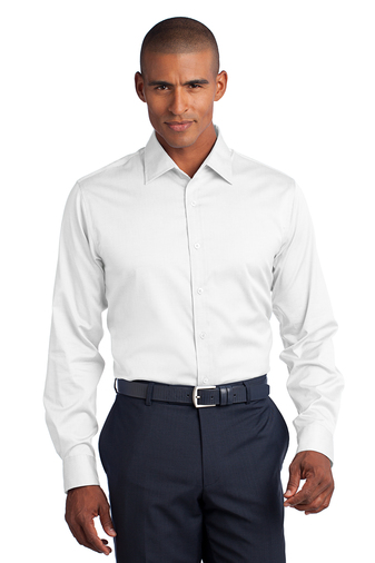 Red House Mens Slim Fit Non-Iron Pinpoint Oxford Shirt