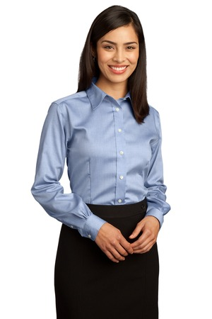 Red House - RH25 Ladies Non-Iron Pinpoint Oxford Shirt