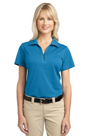 Port Authority - L527 Ladies Tech Pique Polo Shirt, Pensacola, Embroidery, Screen Printing, Logo Masters International