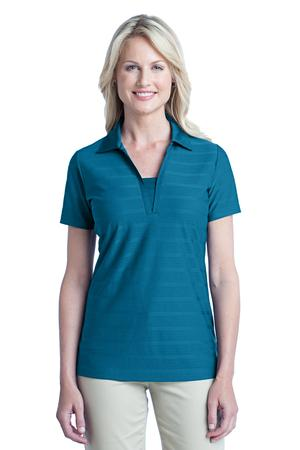 Port Authority - L514, Ladies Horizontal Texture Polo Shirt - Logo Masters International