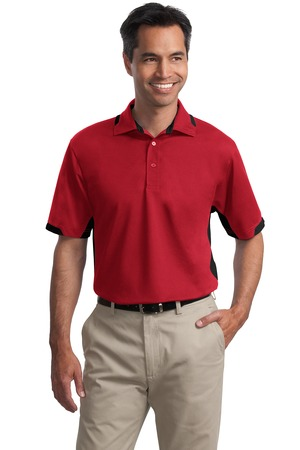 Port Authority - K524 Mens Dry Zone Color Block Ottoman Polo Shirt
