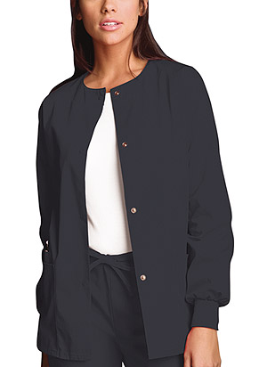 Cherokee - 4350 Ladies Snap front Warm-up Jacket