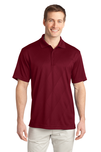 Port Authority - K548 Mens Tech Embossed Polo Shirt