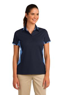 Port Authority - L524, Ladies Dry Zone Colorblock Ottoman Polo Shirt - Logo Masters International
