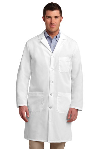Red Kap - KP14, Adult Long Lab Coat, Embroidery, Screen Printing - Logo Masters International