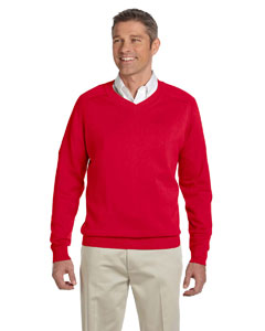 Devon & Jones - D475, Mens Air Spun Cotton V-neck Sweater, Embroidery, Screen Printing - Logo Masters International