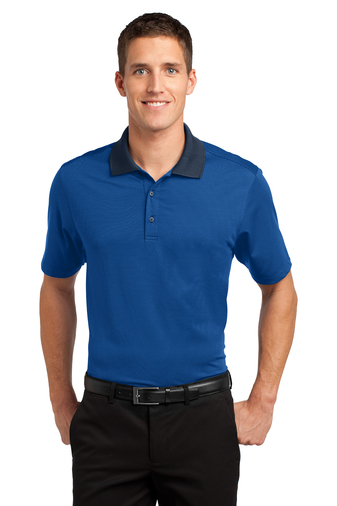 Port Authority - K558 Mens Fine Stripe Performance Polo Shirt