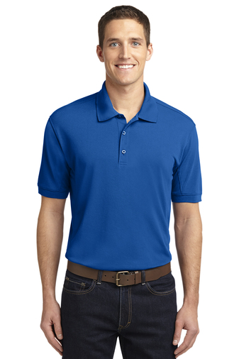 Port Authority Mens 5-in-1 Performance Pique Polo Shirt