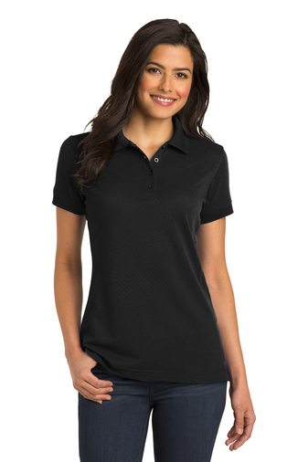 Port Authority Ladies 5-in-1 Easy Care Performance Pique Polo Shirt