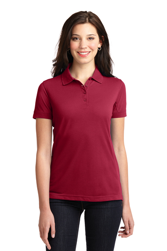 Port Authority - L567 Ladies 5-in-1 Easy Care Performance Pique Polo Shirt, Pensacola, Embroidery, Screen Printing, Logo Masters International