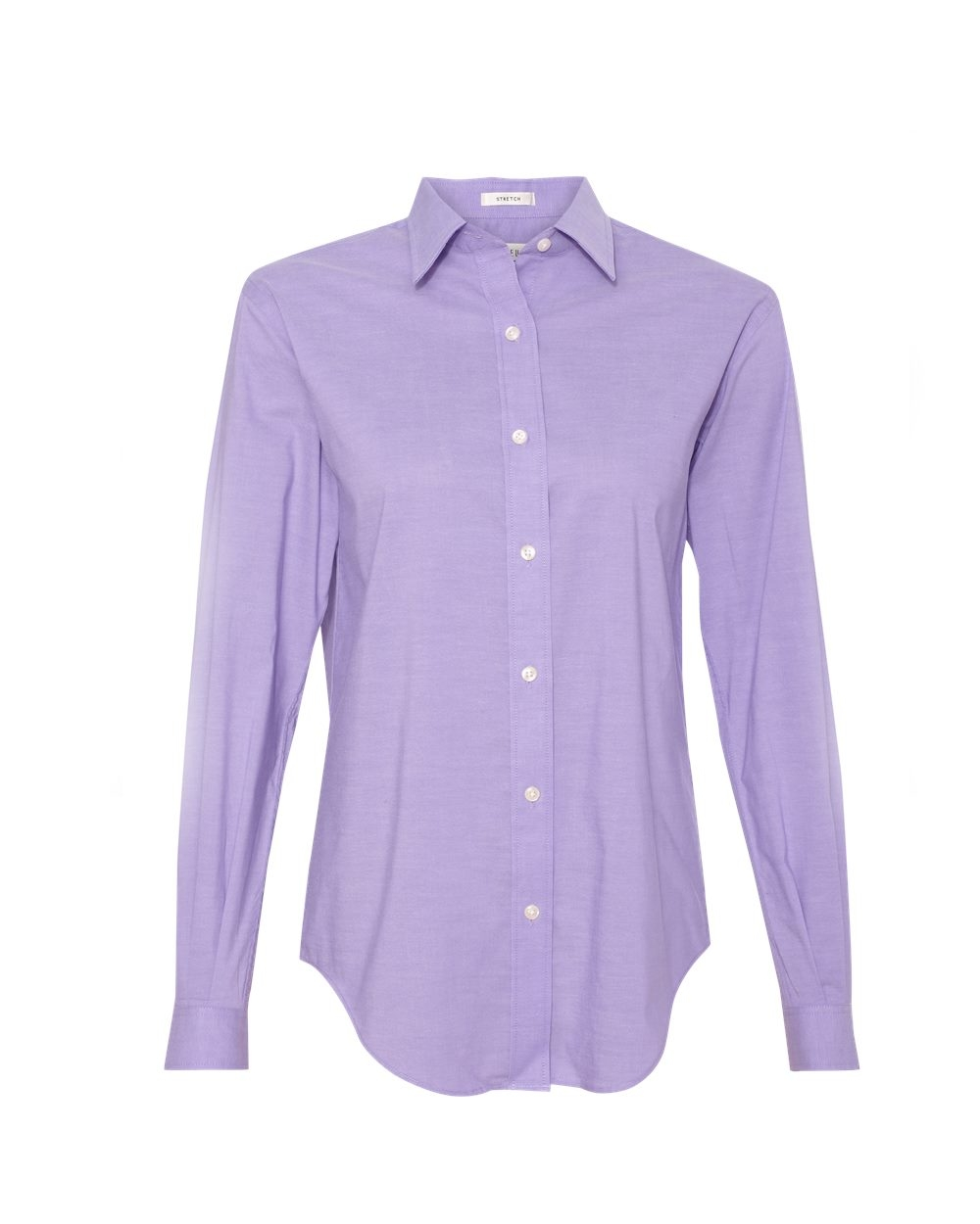 Van Heusen - 13v0238, Van Heusen - Ladies' Stretch Pinpoint Spread Collar Shirt - Logo Masters International