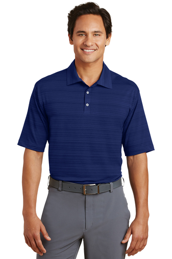 Nike - 429438, Mens Elite Series Dri-FIT Heather Fine Line Bonded Polo - Logo Masters International