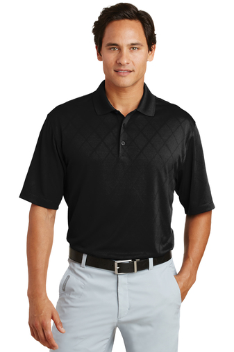 Nike - 349899, Mens Dri-FIT Cross-Over Texture Polo - Logo Masters International