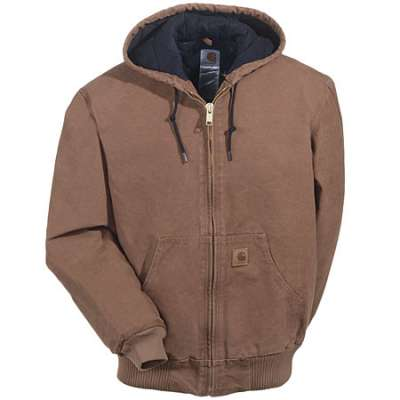 Carhartt - J130 Mens Sandstone Duck Active Jacket, Pensacola, Embroidery, Screen Printing, Logo Masters International