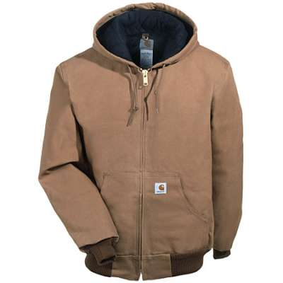 Carhartt - J140, Carhartt J140 Carhartt Mens Duck Active Jacket - Logo Masters International