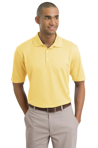 Nike - 244620, Mens Dri-Fit UV Textured Polo Shirt - Logo Masters International
