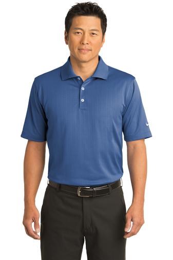 Nike Mens Dri-Fit UV Textured Polo Shirt