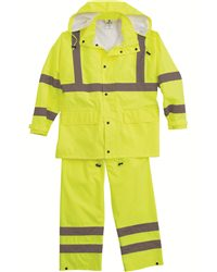 ML Kishigo - 88129 Hi-Vis Full Rainsuit, Pensacola, Embroidery, Screen Printing, Logo Masters International