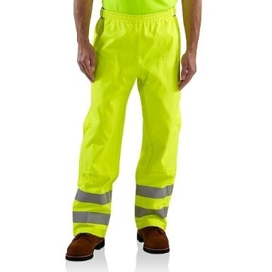 Carhartt - 100497, Hi Vis Waterproof Pant, Embroidery, Screen Printing - Logo Masters International