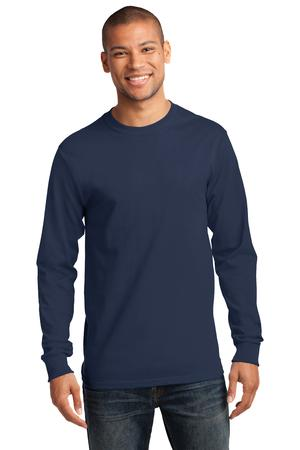 Port & Co. - PC61LS Adult Ultra 100% Cotton Long Sleeve T-shirt, Pensacola, Embroidery, Screen Printing, Logo Masters International