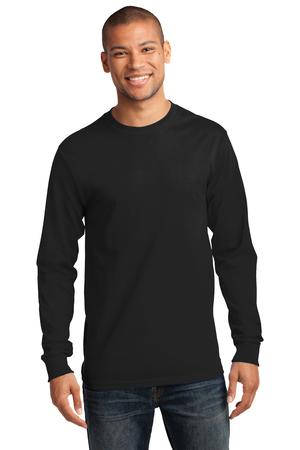 Port & Co. - PC61LS Tall GE Mens TALL Ultra Heavy Cotton Long Sleeve , Pensacola, Embroidery, Screen Printing, Logo Masters International
