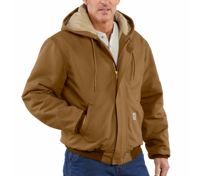 Carhartt - 101621, Carhartt Flame-Resistant Duck Active Jacket - Quilt Lined - Logo Masters International