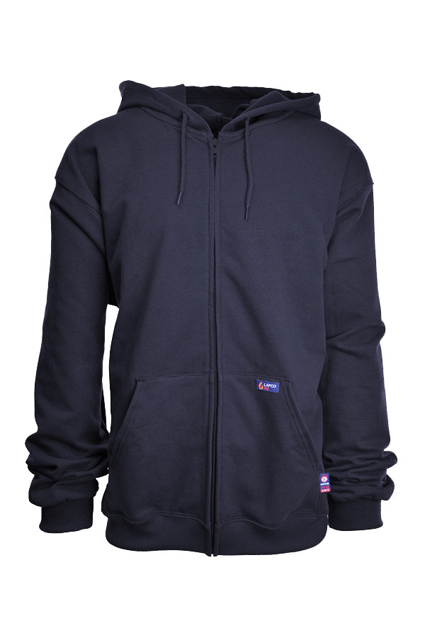Lapco - ZFHFR14NY 12.5 oz. FR/Arc Full Zip Cold Gear Hoodies