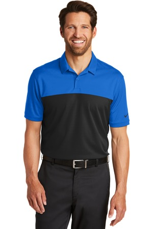 Nike - 881655 Men's Dri-FIT Colorblock Micro Pique Polo