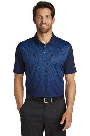 Nike - 881658 Men's Dri-FIT Mobility Camo Polo, Pensacola, Embroidery, Screen Printing, Logo Masters International
