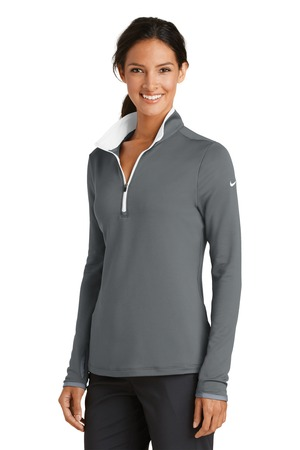 Nike - 779796, Ladies Dri-FIT Stretch 1/2-Zip Cover-Up, Embroidery, Screen Printing - Logo Masters International