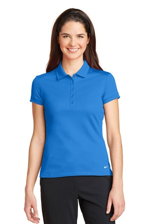 Nike - 746100, Ladies Dri-FIT Solid Icon Pique Modern Fit Polo - Logo Masters International