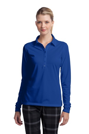 Nike - 545322 Ladies Long Sleeve Dri-FIT Stretch Tech Polo, Pensacola, Embroidery, Screen Printing, Logo Masters International