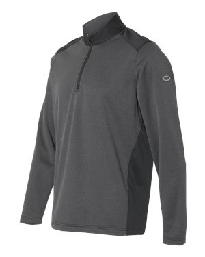 Oakley - 12487 Men's Range Quarter-Zip Pullover, Pensacola, Embroidery, Screen Printing, Logo Masters International