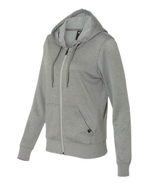 Oakley - 12387 Women's Hooded Full-Zip Sweatshirt