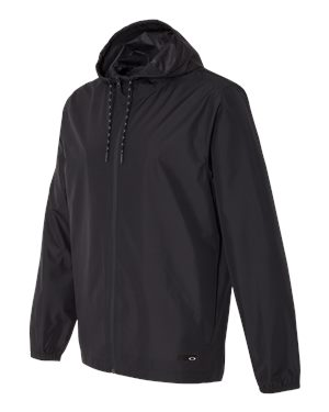 Oakley - 12187, Men's Hooded Windbreaker, Embroidery, Screen Printing - Logo Masters International