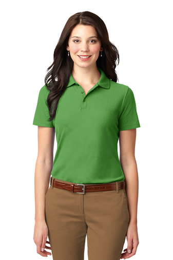 Port Authority - L510 Ladies Stain Resistant Polo, Pensacola, Embroidery, Screen Printing, Logo Masters International