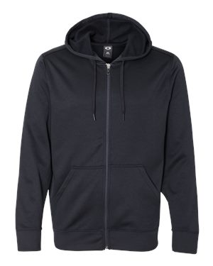Oakley - 12287, Men's Poly Hooded Full-Zip Sweatshirt, Embroidery, Screen Printing - Logo Masters International