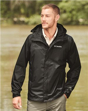 Columbia - 01324 Watertight™ II Jacket, Pensacola, Embroidery, Screen Printing, Logo Masters International