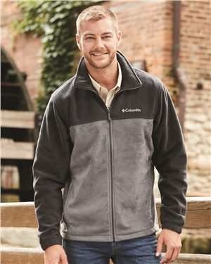 Columbia - 01224 Men's teens Mountain™ Full Zip 2.0, Pensacola, Embroidery, Screen Printing, Logo Masters International