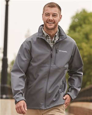 Columbia - 01524, Men's Ascender™ Softshell Jacket - Logo Masters International
