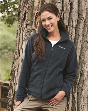 Columbia - 00724, Women's Benton Springs Full Zip, Embroidery, Screen Printing - Logo Masters International