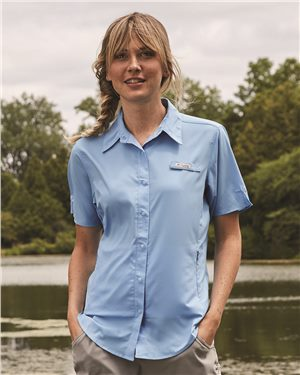 Columbia - 00424, Women's Tamiami II Short Sleeve Shirt - Logo Masters International