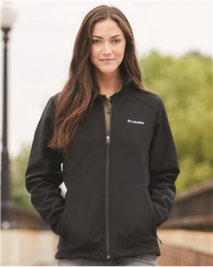 Columbia - 01624, Women's Kruser Ridge Softshell, Embroidery, Screen Printing - Logo Masters International