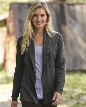 Weatherproof - 22852 - W173780 Vintage Women's Cotton Cashmere Open Cardigan, Pensacola, Embroidery, Screen Printing, Logo Masters International