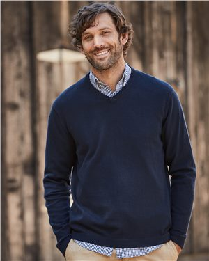 Weatherproof - 27752 Men's Vintage Cotton Cashmere V-Neck Sweater